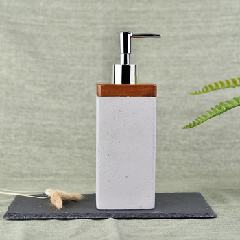Wholesale Cement Body Lotion Bottle Shower gel bottles with Pump