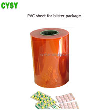 Factory Price Pvc Blister Pack Film Soft Pvc Film For Vacuum Forming
