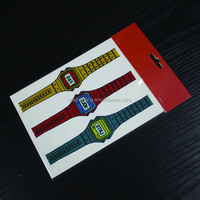 fake watch temporary tattoo sticker