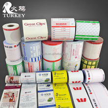 Custom Printed Paper Rolls Thermal 80mm Cash Register Paper 3 1/8 inch width POS Paper factory