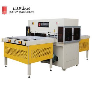 Double Side Automatic Feeding Rubber Sheet Die Cutting Machine