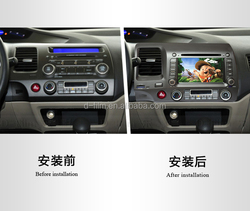 hot sale 2 din car radio with navigation China