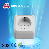 ABS 16A french secure electrical socket