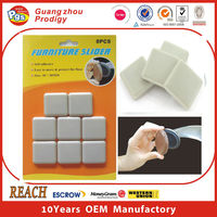 Adhesive furniture slider /furniture chair accessories