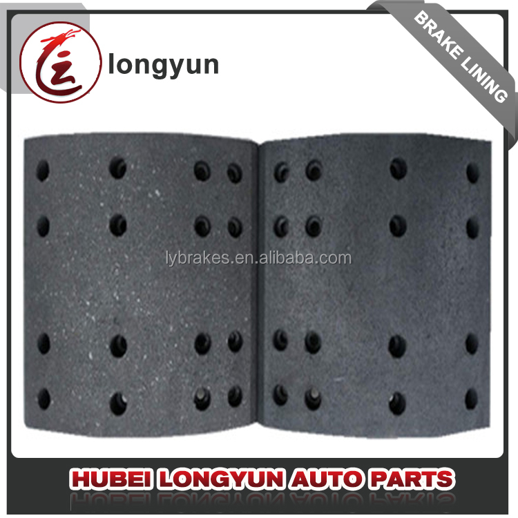 Brake lining for fuwa, brake lining for truck spare parts, brake pad brake shoe lining