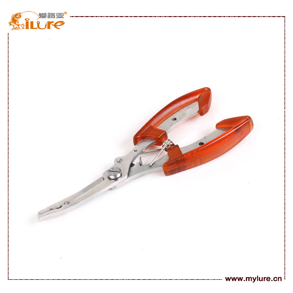 ILURE Fishing Tackle Scissors Plier Color Yellow/Blue