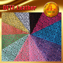 colorful spider web net fabric hot special shoes material for the Middle East market made in China