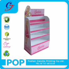 CYJ-TF508 Barbie Doll 4-tier Cardboard Wings Display Stand
