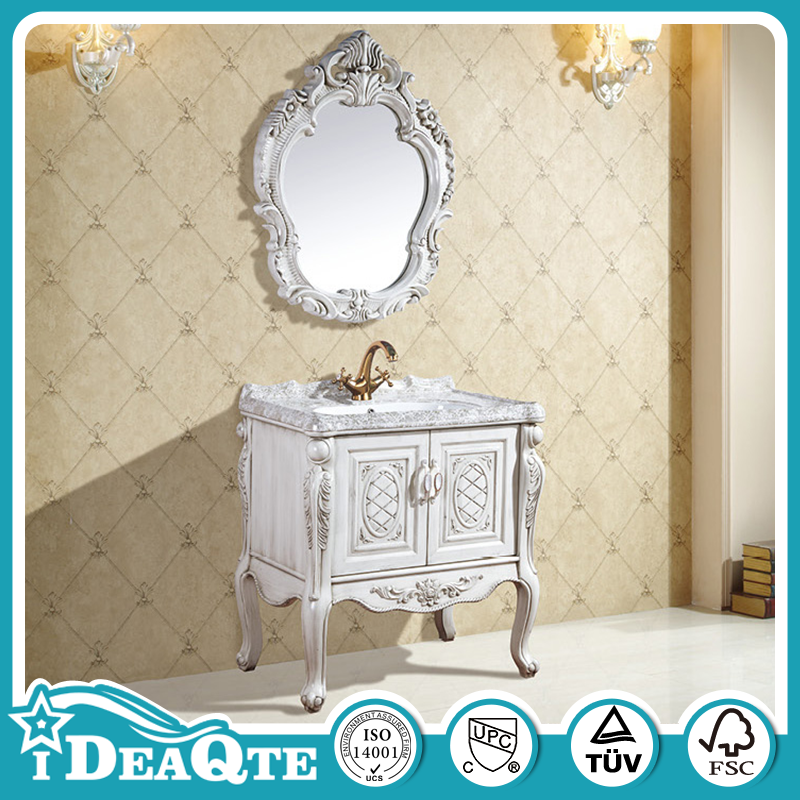 America Style PVC Bathroom <strong>Cabinets</strong> Antique Living Room Furniture