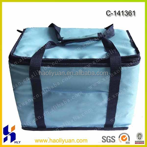 600D Recycle Wine Bottle Cooler Bag
