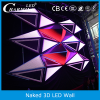 3D led wall panels,led display screen indoor,P10 ,P5 module screen