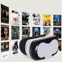 VR-BOX 3D Head Mount Display Virtual Reality Video Glasses for Smartphone Better than Google Cardboard