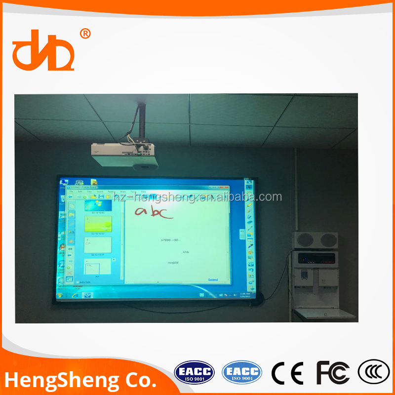 hot selling 82inch finger touch screen interactive whiteboard