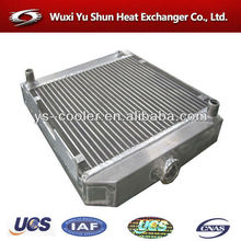 auto spare parts intercooler / profession aluminum plate-fin machinery heat exchanger company / auto tank radiator