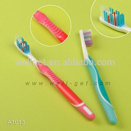 2017 Trending Products FDA Approved Toothbrush with Tongue Cleaner A1003