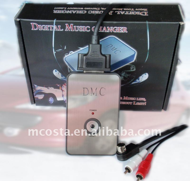 Car CD changer +FM mp3 transmitter( CE approved)