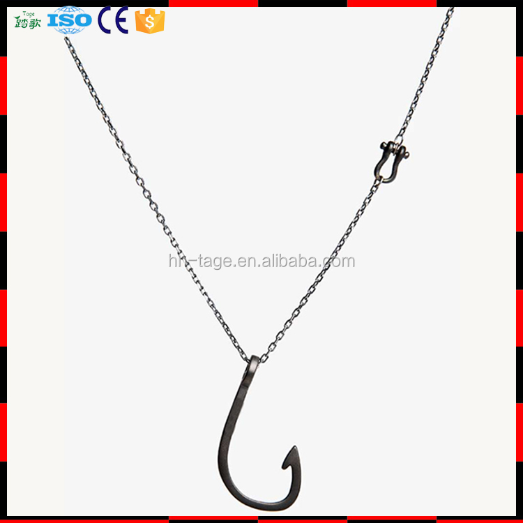 Stainless Steel Sweater Long Chain Necklace
