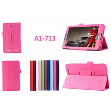 7 inch PU Leather cover with stand tablet case for Acer Iconia Tab 7 A1-713HD