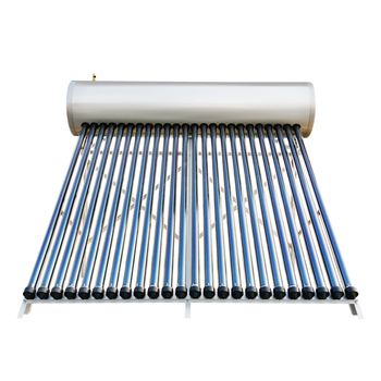 24 tubes 230l stainless steel heat pipe solar hot water heater