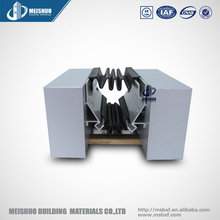 Internal wall flexible architectural rubbery expansion joint covers
