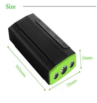 factory supply high quality portable car jump starter high efficiency 13600mAh