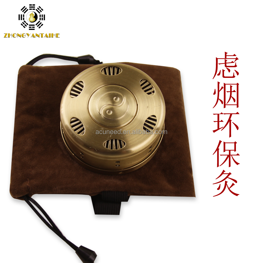 Copper moxa/Copper moxibustion box/Moxibustion box