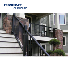 Powder Coated Aluminum Railing Handrail Profile Balcony Aluminium Profile