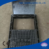 Top Quality ISO9001 Iron Square Water Meter Manhole Cover
