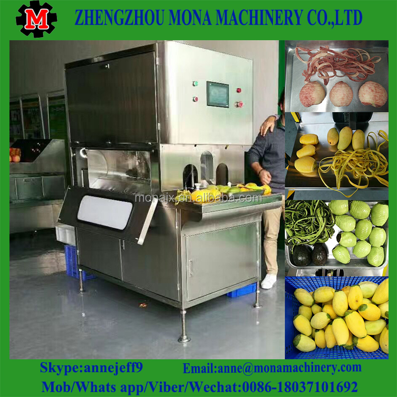 commercial apple peeler corer slicer/fruit peeling and slicing machine