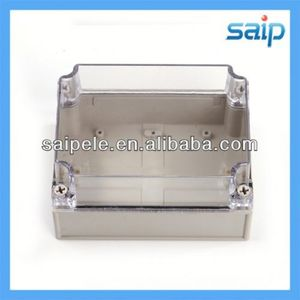 2013 Hot sale pvc waterproof junction box with clear lid