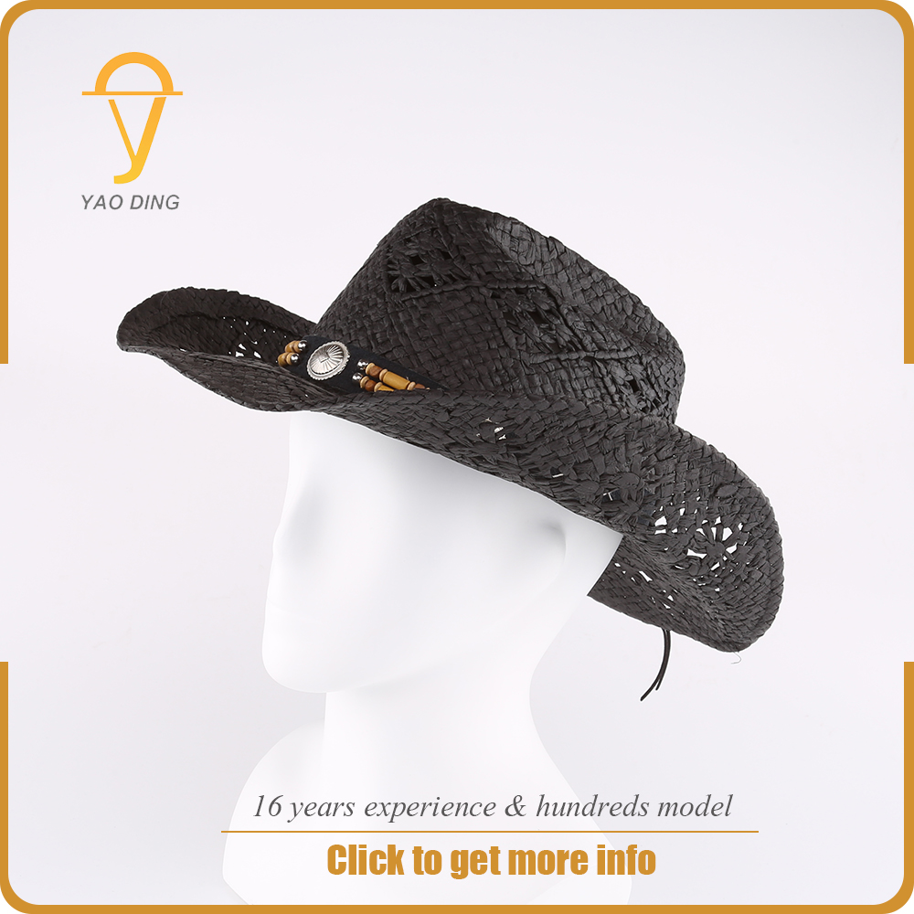 wholesale cheap design your own bulk straw cowboy hats made in mexico for sale