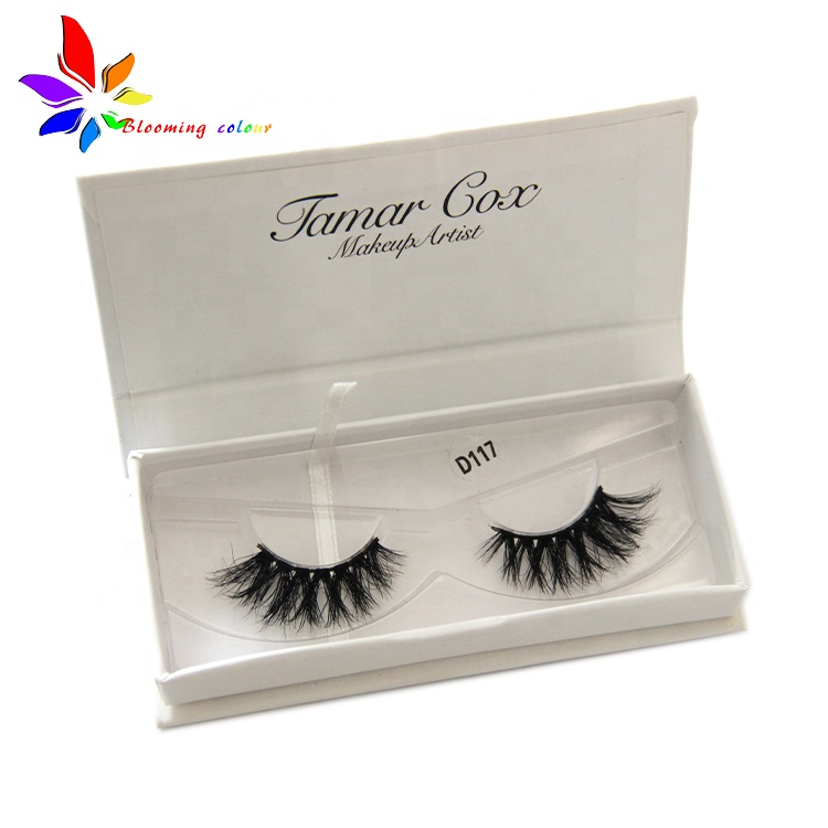 Best sellers 3d eyelash strips mink fur lash vendor with custom mink eyelashes and packaging box