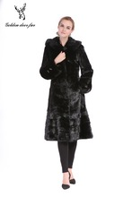 The manufacturer sells The hot style swing skirt mink fur coat