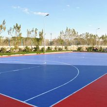 Outdoor Basketball Court Interlocking Sports Flooring Tile