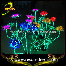 RS-PC03 light up artificial outdoor led flowers