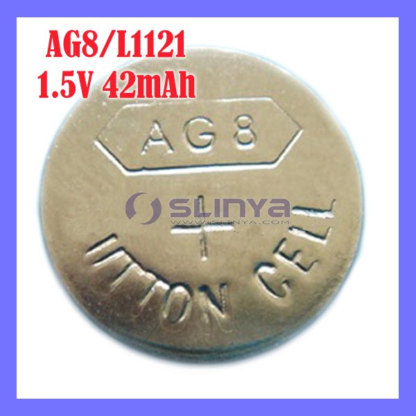 1.5V AG8 Alkaline battery Series Used Extensive Button Power