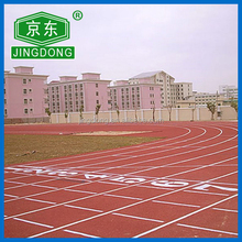 Outdoor Rubber Running Track Surface