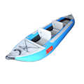 Blue Color White Water Inflatable Fishing Kayak 2 Person for Lake