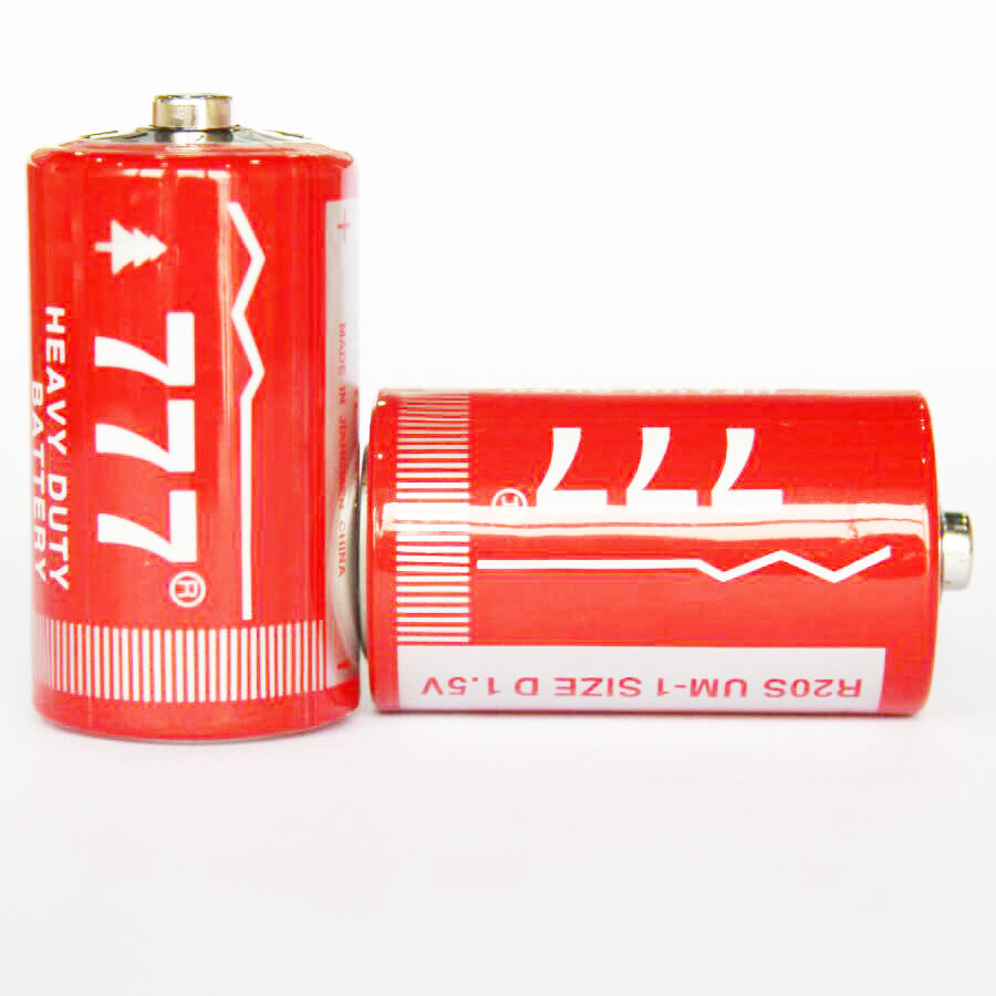 d size r20p battery 1.5v um1 carbon