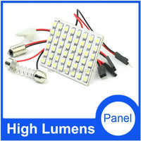 LED car reading lamp PCB 48 SMD 3528 Auto interior dome light