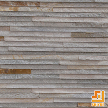 Good Quality Natural Slate Stacked Ledge Rusty Cultured Stone