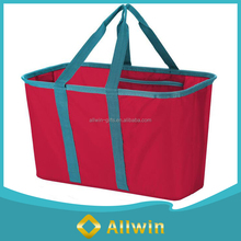 New Style Folded Sided Soft Large Capacity Tote Shopping Bag
