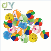 "Custom LOT OF 48 MINI MULTICOLORED BEACH BALLS 6"" BEACHBALL BALL POOL PARTY toys beach volleyball"