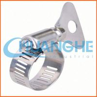 Made in china compressed air hose clamp for tube pipes