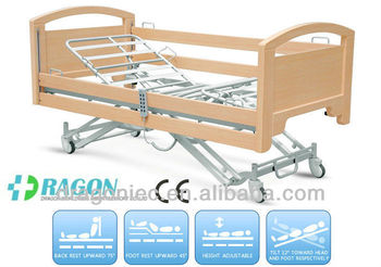 Chinese DW-BD140 hospital electric nursing bed with five functions in low price