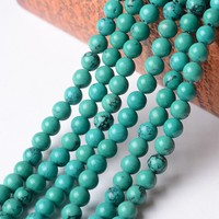 wholesale High Quality Turquoise Stone Loose Round Beads