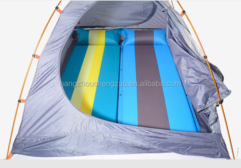Hot Sale CZX-145B thickening tent sleeping pad outdoor double automatic cushion inflatable tent moisture-proof pad