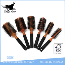 Popular wooden hair comb straightener