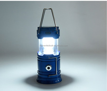 6 Led Portable Hand Torch Light 3w Solar Camping Lantern