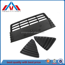 1 sets Skin Front Bumper lower grille grills ABS Trim for Ford Focu.s 2012-2014